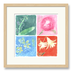 Embossed Flowers Art 2