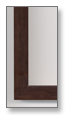 Walnut Frame Sample