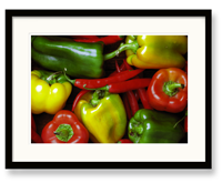Fruits & Veggies Art - Peppers