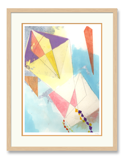 Purple Kite Art